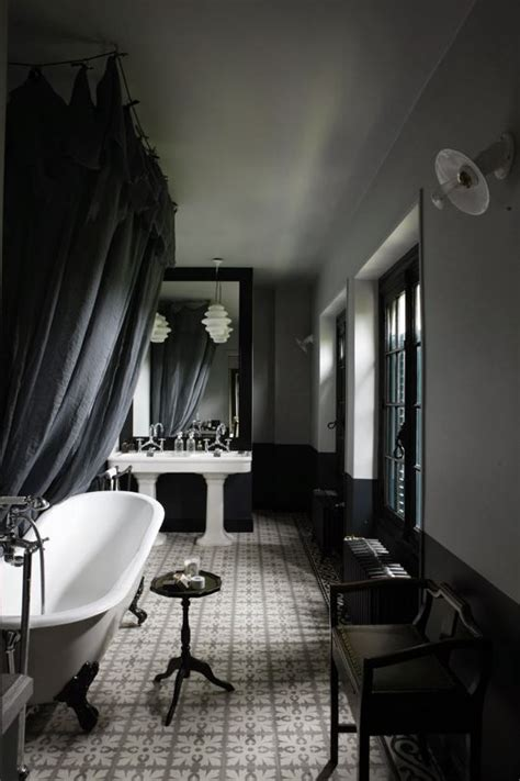 dark moody bathroom designs  impress digsdigs