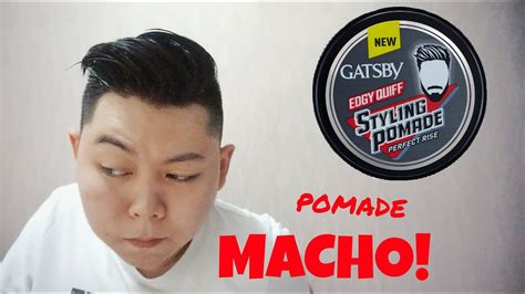 Gatsby Edgy Quiff Styling Pomade Rise 30g pomade baru gatsby styling pomade rise edgy