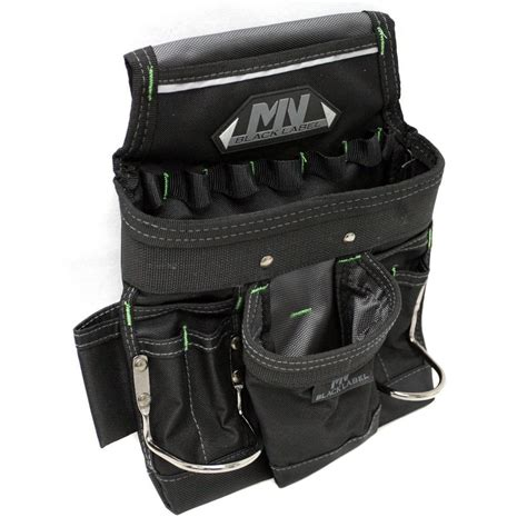 mn black label 10 pocket tool and nail pouch 75 67 670