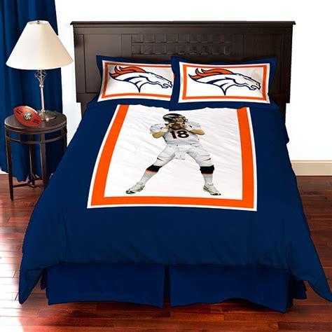 denver broncos bed set biggshots nfl comforter sets