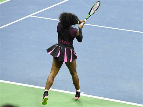 proper tennis swing serena williams s backhand the new york times