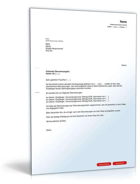 Kündigung Eigenbedarf Haus Muster Brief An Bank Fehlende 220 Berweisung Muster Vorlage Zum