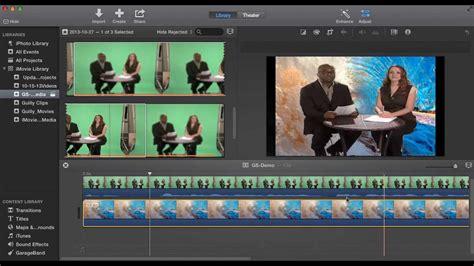 tutorial for imovie 10 0 8 imovie 10 0 greenscreen tutorial youtube