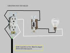 wiring light switch outlet wiring wiring diagram