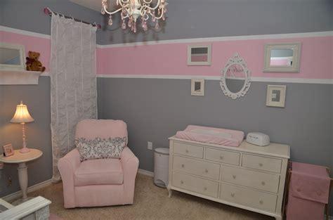 baby room pink grey pink  gray nursery pink
