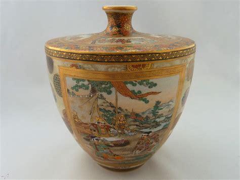 vaso satsuma vaso satsuma kozan artecollezione mastromauro japanese