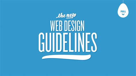 typography guidelines the new web design guidelines