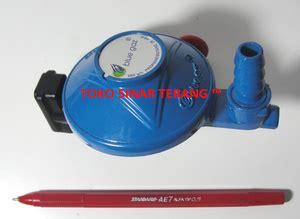 Kompor New Kompre Deluxe jual regulator khusus kompor tabung blue gas gaz 28 mbar