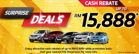 Kia Malaysia Promotion Monthly Promotion 187 My Best Car Dealer Price Discount
