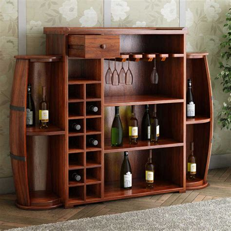 wine and liquor storage cabinets harrod handcrafted rustic solid wood barrel design home