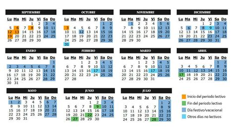 calendario 2017 de pleyboy vacaciones calendario escolar del curso acad 233 mico 2016