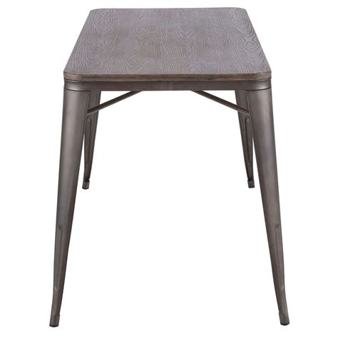 52 dining table oakland modern antique espresso 52 in dining table eurway