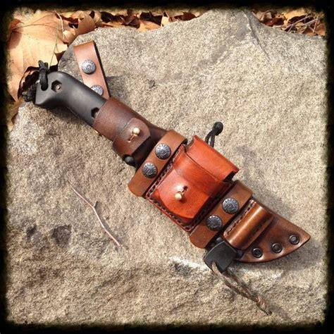 knife customizer custom leather sheath
