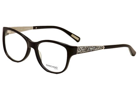 guess by marciano eyeglasses gm244 gm 244 blk black