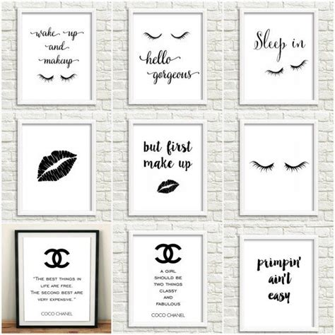 things to stick pictures to walls 23 diy makeup room ideas organizer storage and