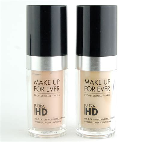 Eyeliner Makeup Forever makeup forever hd invisible cover foundation swatches