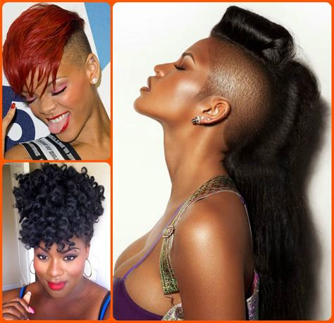 Mohawks Hairstyles by Jazzy Mohawk Hairstyles For Black Hairstyles 2017