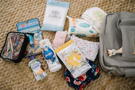 packing a bag for a toddler and an infant lynzy co