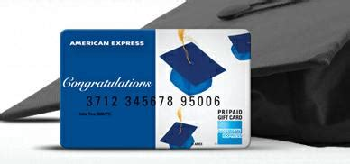 American Express Gift Card Fee Free - congratulate the graduate with fee free gift card from american express points miles
