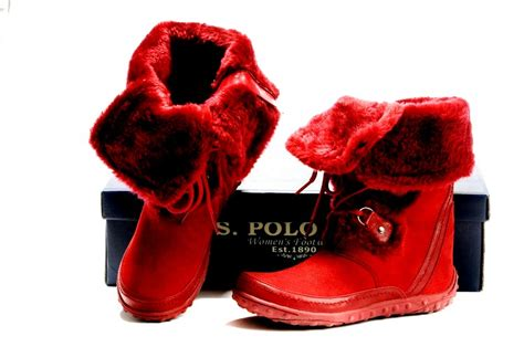 polo boots for with the fur fashion belief