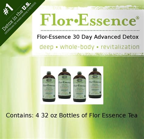 Detox Ta Florida by Flor Essence Tea 30 Day Advanced Detox