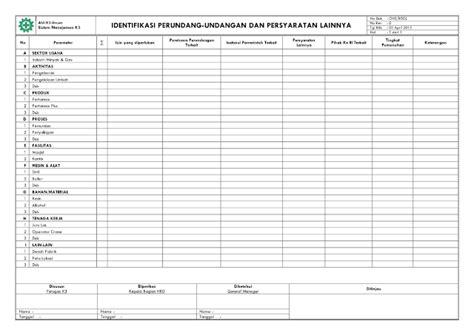 format laporan ui bhoedieyanto blogspot form laporan identifikasi peraturan