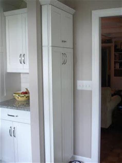 broom closet..or other slim storage   For the Home