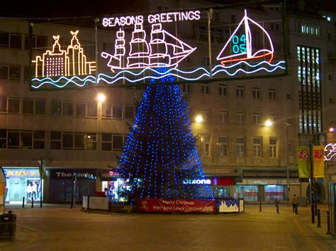 liverpool christmas lights 2004