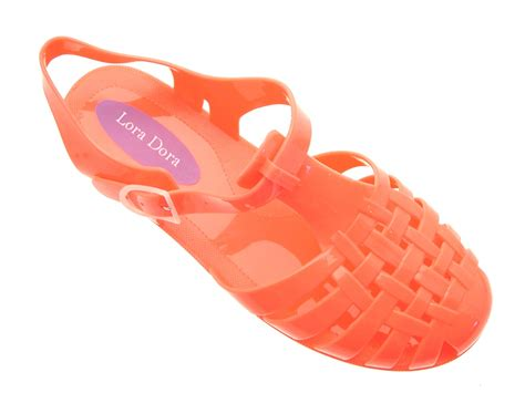 jelly sandals size 3 womens jelly cut out sandals flat jellies summer