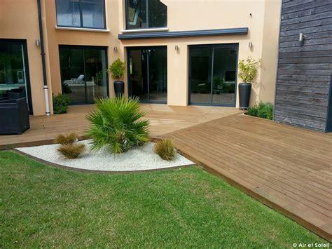 Jardins En Terrasse by Terrasses En Bois Sur Mesure Am 233 Nagements Ext 233 Rieurs