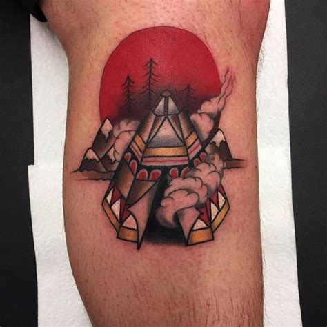 handsome devil tattoo teepee by kathrynursula at handsome