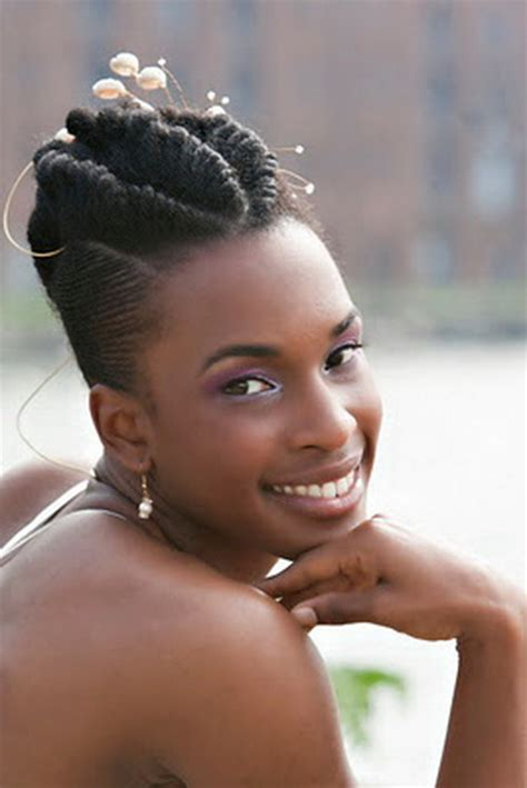 natural hair updo for 50 women updo hairstyles for black women