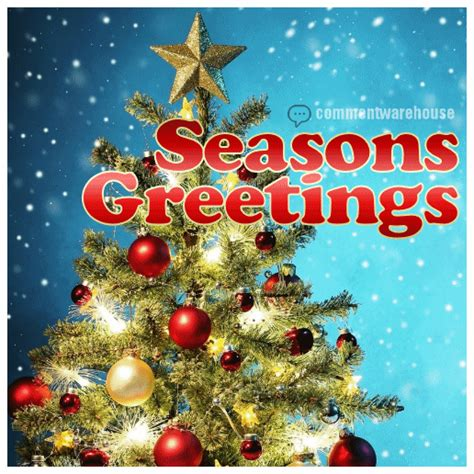 seasons greetings christmas tree comments pics quotes