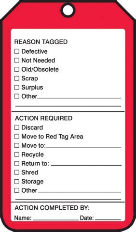 5s Red Tags By The Roll 5s Tag Template