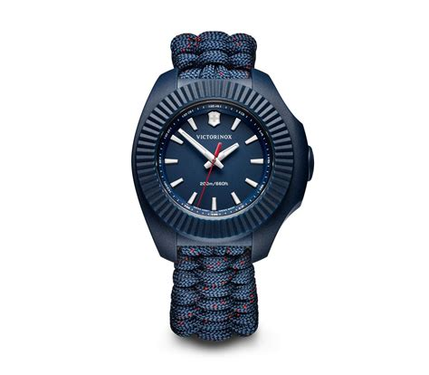 Swiss Army X victorinox i n o x v in blue 37 mm 241770