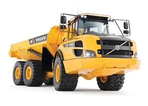 Articulated Hauler Volvo Volvo Construction Equipment A25g And A30g Articulated