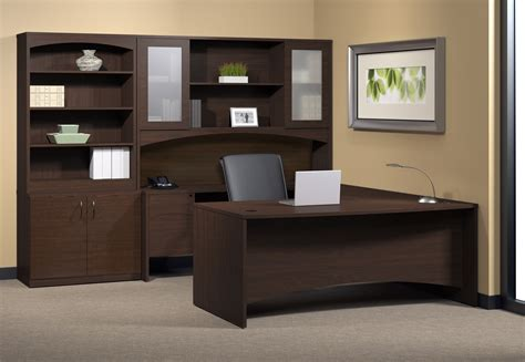 Office Desk With Hutch Storage by Mayline Furniture Bt7 Brighton U Desk With Hutch And