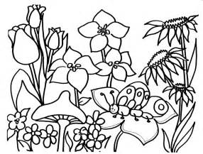 springtime coloring pages free springtime coloring pages coloring home