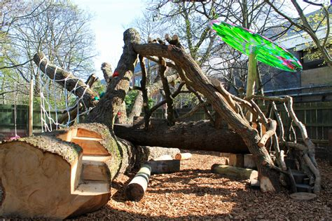 Backyard Climbing Structures by Nature Inspired Playgrounds Be A