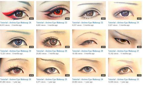 tutorial wardah eyeshadow seri d men of crossplay projectcosplay cosplay eye makeup let