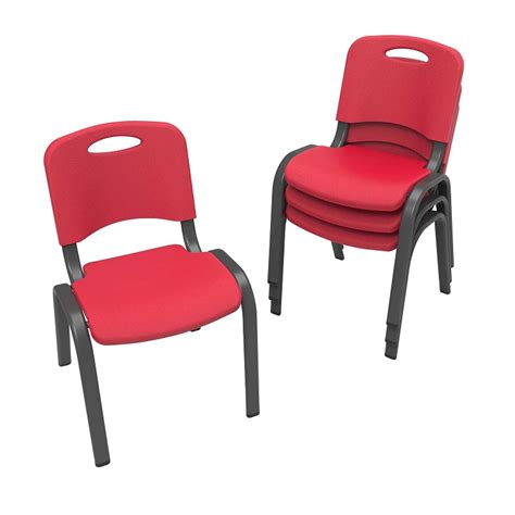 Lifetime Stacking Chairs by Lifetime Childrens Stacking Chairs 80352 4 Pack