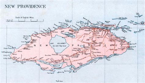 map of new providence map of the bahamas