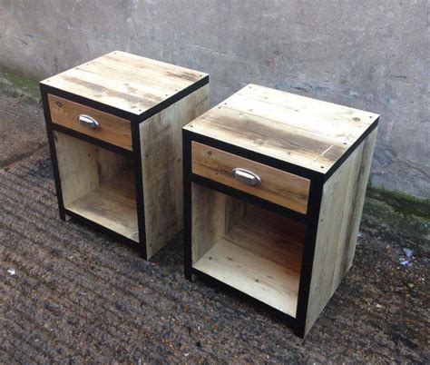 beautiful reclaimed timber bedside table bedside