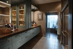 wood mode contemporary bath and kitchen design