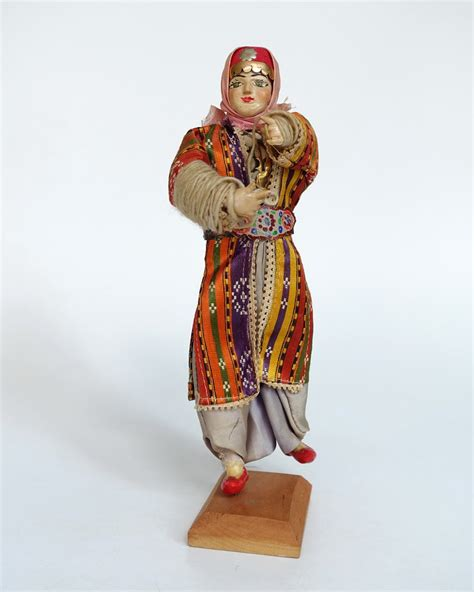 ottoman fashion turkey doll in ottoman style clothing national costume