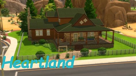 heartland house sims 4 heartland house speedbuild youtube