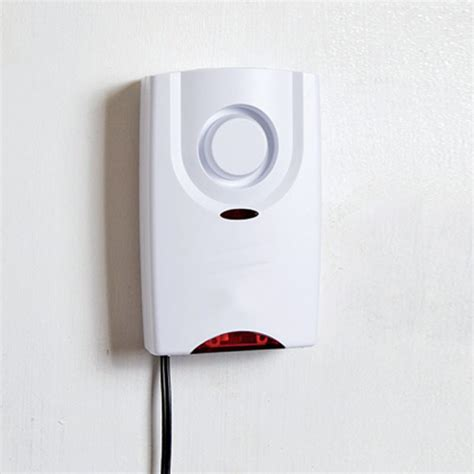 sabre 174 add on indoor home security siren 120db the home