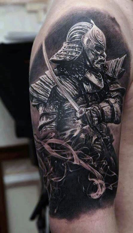warrior tattoos for men 50 samurai designs for noble japanese warriors