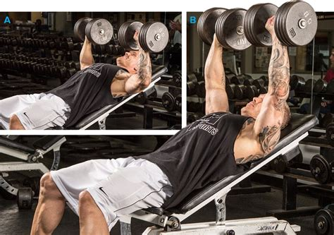 upper chest bench press chest training 7 ways to build your upper pecs