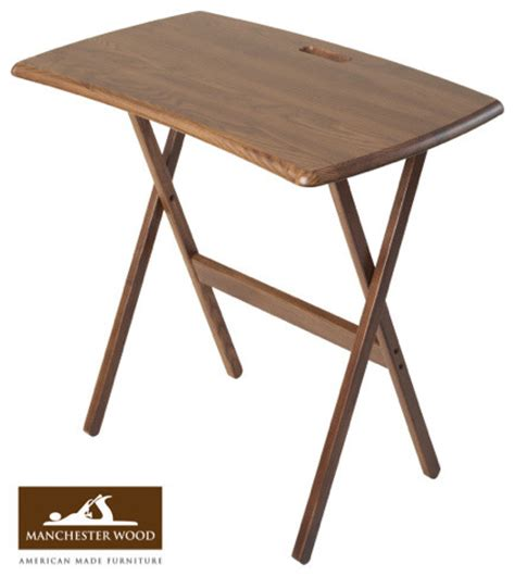 Portable Folding Work And Laptop Desk By Manchester Wood Portable Coffee Table